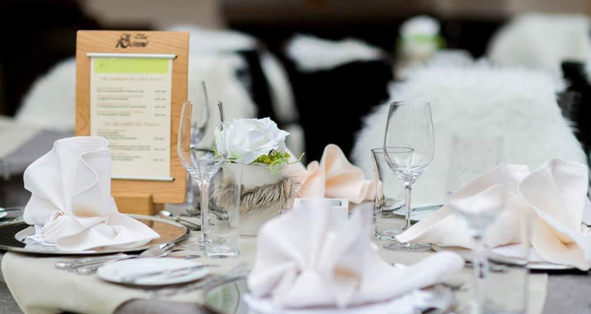 menue gastronomy design