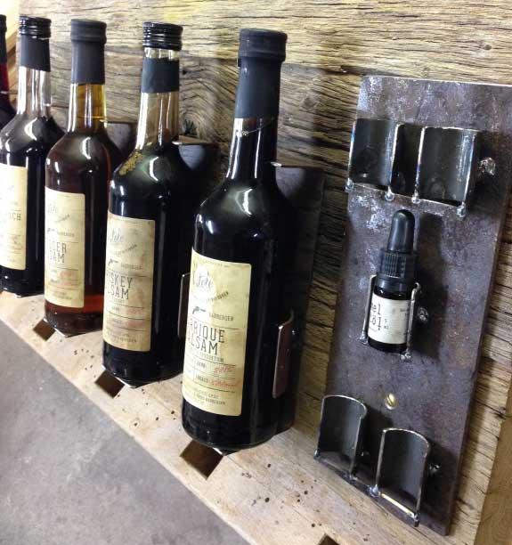 Präsenter Flaschen